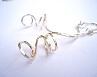 Sterling Silver Earrings, Drop Earrings, Dangle Earrings