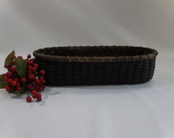 Bread Basket-French Bread Basket-Muffin Basket-Oval Basket-Handwoven Basket