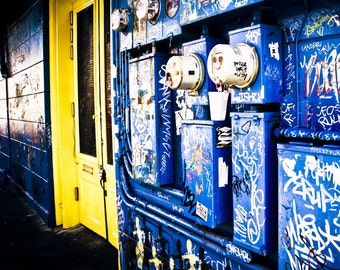 Frenchman St. is Electric~ New Orleans street art, NOLA Photography, Travel Photography, Urban Photo, Marigny, French Quarter Photography