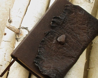 Leather Bible NIV Thinline with protective flap