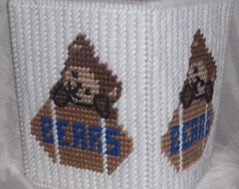 Bears Tissue Box Cover Plastic Canvas Pattern