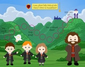 Personalized Children's Incentive / Reward Chart - Harry's Adventure! - Printable Jpeg or PDF