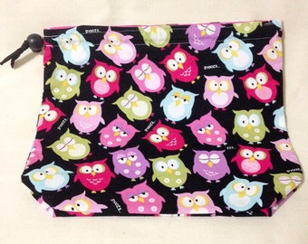 Medium - Sleepy Owl (pink)
