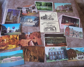 Vintage large group of assorted post cards.   C6-226-0