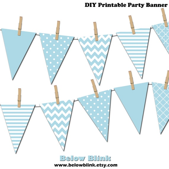 it s a boy banner printable