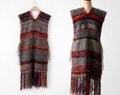 vintage knit tunic, sweater dress