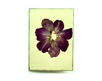 Rose petal Collage Card - Blank 4.5x6.25 (RP45-003)