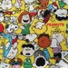 Half yard Manga Snoopy fabric