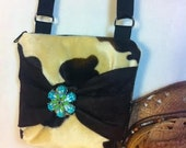 Crossbody bag with a bow, Crossover Bag, purse, Tweeny Purse, Tweeny bag, princess purse, princess bag, Cowgirl Bag, Country Western Bag