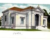 BROWN UNIVERSITY, John Carter Brown Library, Providence Rhode Island Vintage Used Postcard
