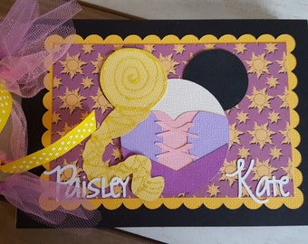 Personalized Disney Autograph Book Inspired by Rapunzel