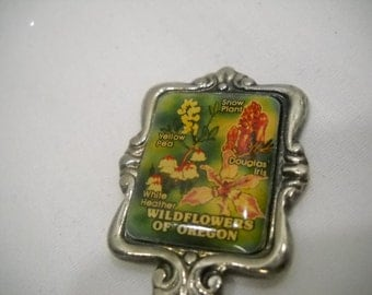 Wildflowers Of Oregon Collectible Souvenir Spoon