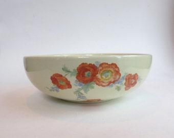 Vintage Hall Orange Poppy Serving Bowl
