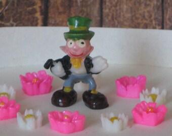 Vintage Disneykins Pinocchio Jiminy Cricket tiny collectible figurine