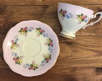 Vintage Teacup and Saucer Floral English Tea Party Rapunzel Cinderella Wedding Event Baby Shower Decorations