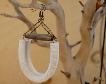 Ayoku tribal  earrings - bespoke - artisan jewelry - ethnic jewelry - african jewelry - tribal jewelry - african earrings - jewelry
