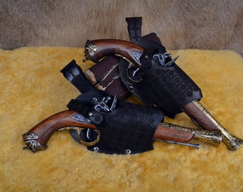 Pirate Pistol Holster With Pistol
