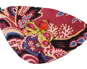 Eye Patch Gypsy Jewel Fashion Pirate Cosplay Colorful Colorful Pink Vivid