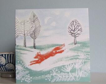 Run Foxy Run card