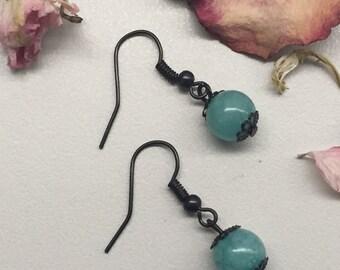 CA Drop Earrings_Turquoise