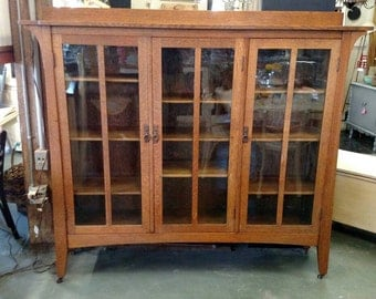 Rare! Arts And Crafts Era Limbert 359 Bookcase In Amazing Condition!