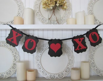 XO XO Valentines Banner