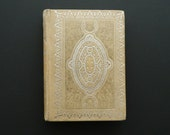 Cranford by Elizabeth Gaskell. little antique book circa early 1900. victorian library. classic literature.