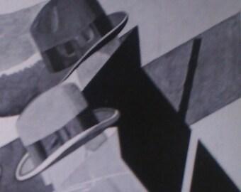 Art Deco Vintage French Ad Flechet Freres Hats for Men Paris Accessories 1929