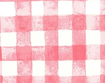 1 Yard Painted Gingham Bloom, Sommer Collection by Sarah Jane, Michael Miller Fabrics, Quilting Cotton