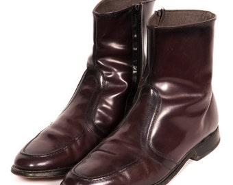 30% OFF Maroon BEATLE BOOTS Men's Size 9