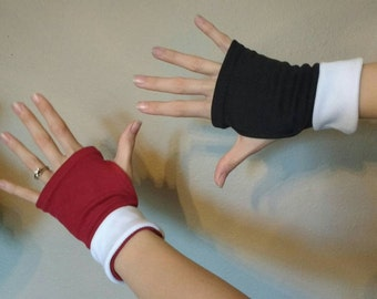 Harlequin - cuffed gloves