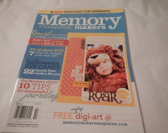 Memory Maker Scrapbooking Cards Craft Instruction Pattern Book Scrapbooking All Occasion