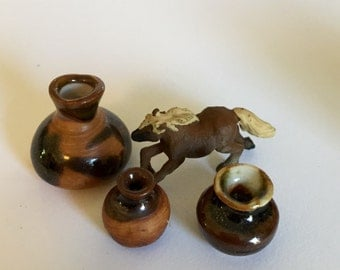 Wild Horses Miniature Western Collection