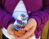 Crocheted Easter Egg / Hatched Chick Egg