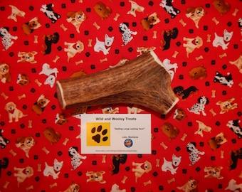 "Organic XL Elk Antler Dog Chew ""Made in Montana"" (Lot C81)"