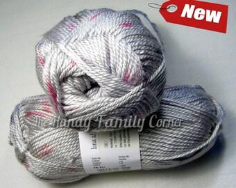 Yarn Tremori. Hypoallergenic grey silver coloured soft yarn col. 311