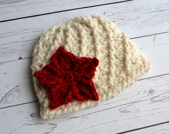 Poinsettia Twist Hat