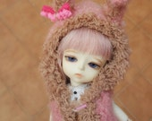 Pink Bunny hooded vest ~ for Lati Yellow  [[Custom order]]