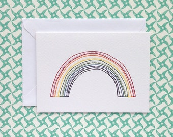 RAINBOW | greetings card