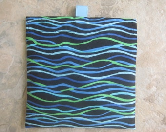 Squiggles - Reusable Sandwich/Snack Bag with tabs