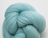 Aqua Recycled Merino Lace Weight Yarn,  Martinique Aqua Reclaimed Merino 3710 Yards Available