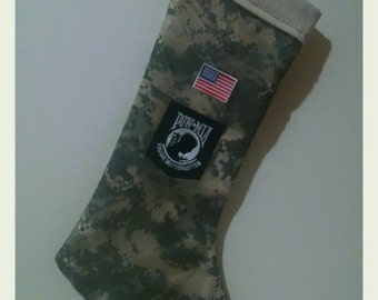 All-American Christmas Stocking-  donation to Wounded Warrior Project with each of this style sold