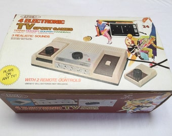 Vintage E&P Magnavox Electronic TV Sports Game New in Box 1970's Never Used Very Rare