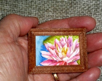 SALE - Original Miniature Painting