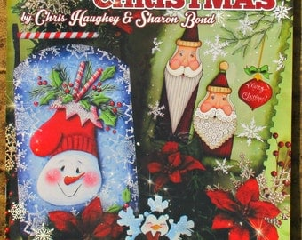 A TREASURED CHRISTMAS BOOK - By Chris Haughey & Sharon Bond - 55 pages with 8 full projects for Christmas and Winter!