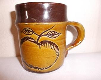 Vintage English Cider Cup British Inchs Tasting Mug