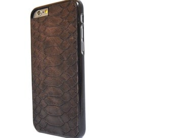 brown iphone 6 plus case, iphone 6s plus case, gift for men, iphone 6 case, anniversary gift, husband gift, boyfriend gift, father days