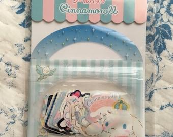 NEW 40 stciker flakes pack Sanrio Cinnamoroll