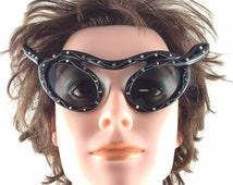 Rare Paulette Guinet Snake Sunglasses. Serpent Sunglasses. Made in France 1950No.001994 cs