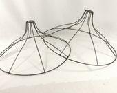 Lamp Shade Frame Pair for Chandelier Pendant Table Handmade Light Fixture